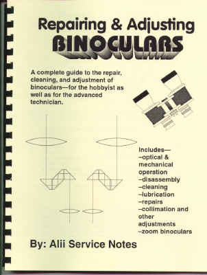 Binocular Repair Instruction Book