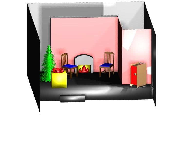Christmas Set design 2007