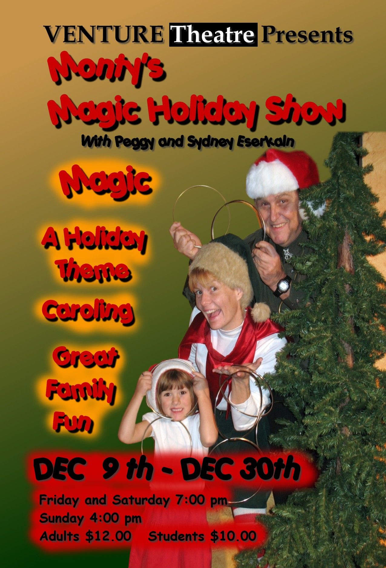 Posters from the past. A Wizard's Christmas 2007